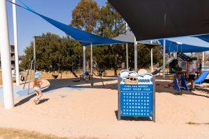 Bulimba riverside park activity panels
