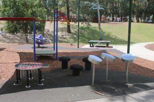 music playground equipment.