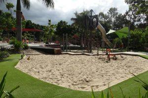 sandplay ipswich, bob gamble park, river heart