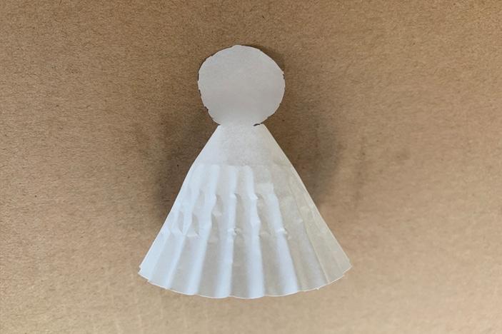 cupcake casing angel