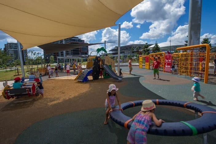 Playground, Tennyson