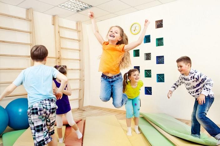 kids kindergym class