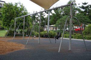 swing set in brisbane playground