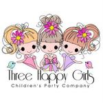 Three Happy Girls Logo