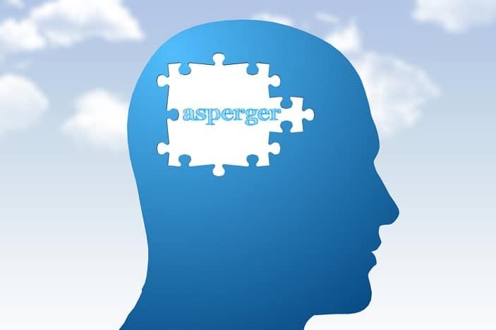 asperger, blue, puzzle piece.