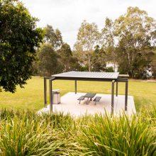 Berrinba wetlands picnic tables