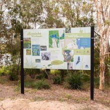 Berrinba wetlands innformative sign