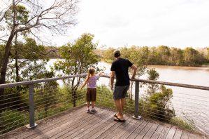 Berrinba wetlands viewing platform