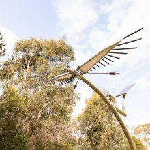 Berrinba wetlands solar sculptures