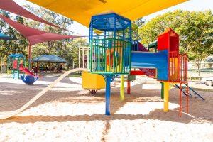 colourful springwood playground.