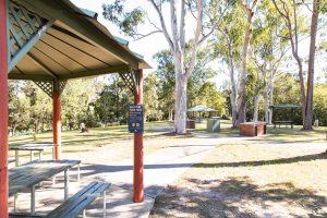 springwood conservation park picnic shelters.