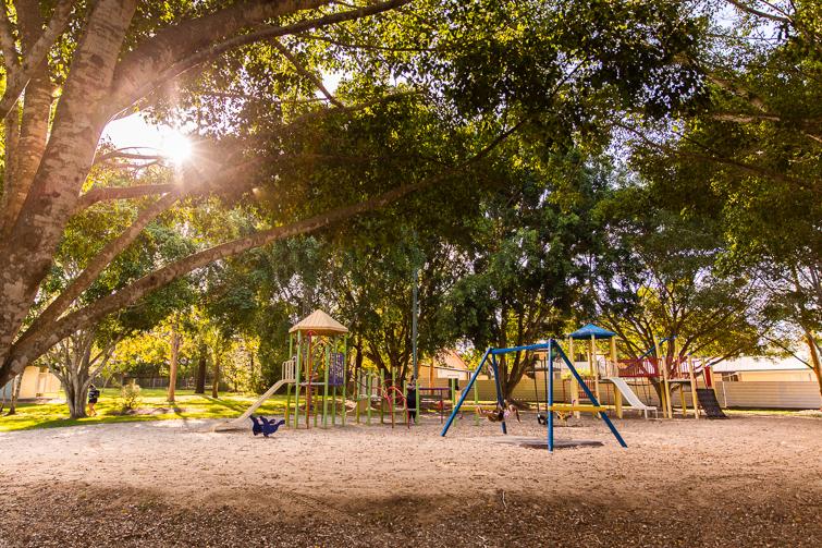 Forestglen park old playground