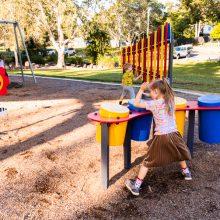 Forestglen park new playground drums