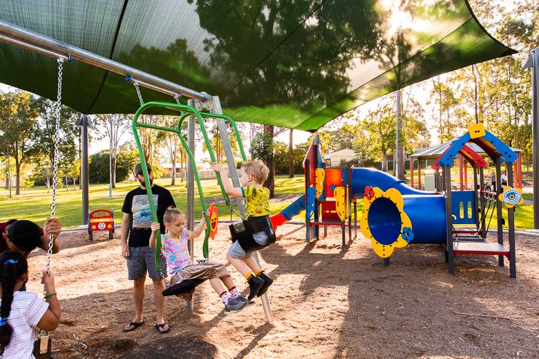 Forestglen park joey swing