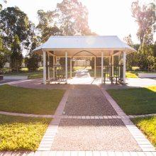 Forestglen park gazebo