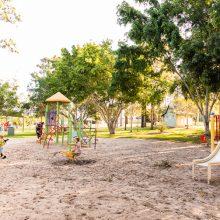 Forestglen park original playground overview