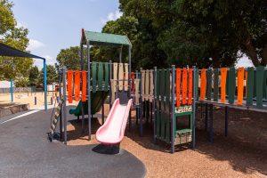 elevated playground