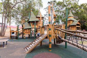 Underwood Park scary playground