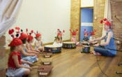 toddler and baby music classes in brisbane with wee make music