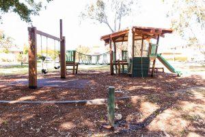 wobbly bridge and playground algester