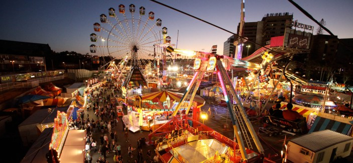 What s on at the ekka in the evening for kids brisbane kids for Pool show rna showgrounds