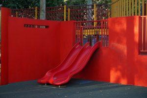 red dual slide