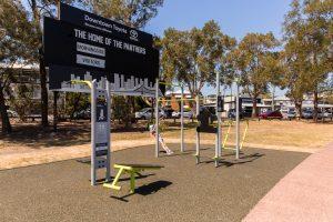 Hawthorne Park fitness station