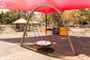 Hawthorne Park group swing