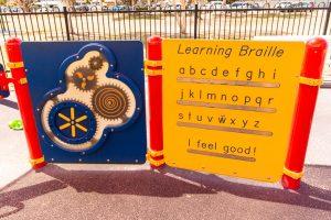 Hawthorne Park Braille