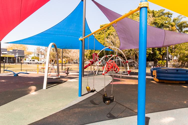 Hawthorne Park swings
