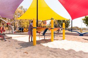 Hawthorne Park digger sandpit