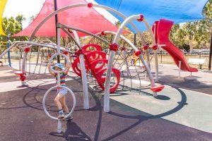 Hawthorne Park digger spinning element