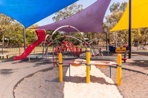Hawthorne Park sand and playground