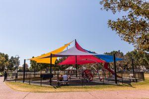 Hawthorne Park shade