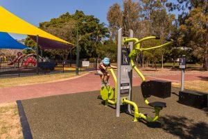 Hawthorne Park exercise bike