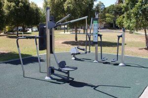 Fitness quipment abbeville park
