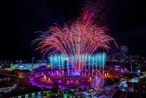 ekka night entertainment fireworks