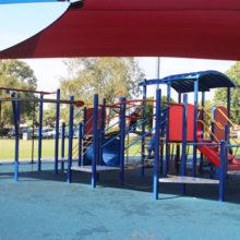 Meadowlands Park climbing equipment