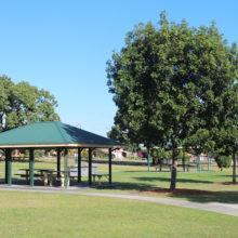 Meadowlands Park gazebo seating