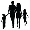 Happy Family Silhouette-01