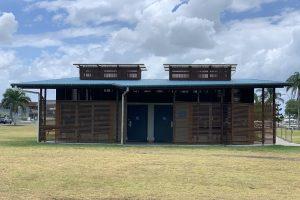 public toilets at george clayton park