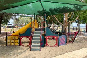 sand based playground george clayton park