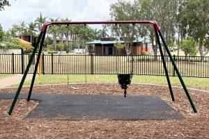 swing set in george clayton park