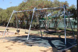 swing set..