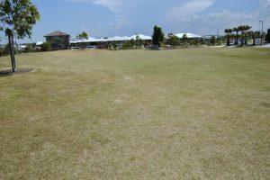 soccer fields at bells reach playground.