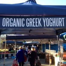 organic greek yoghurt stall brisbane