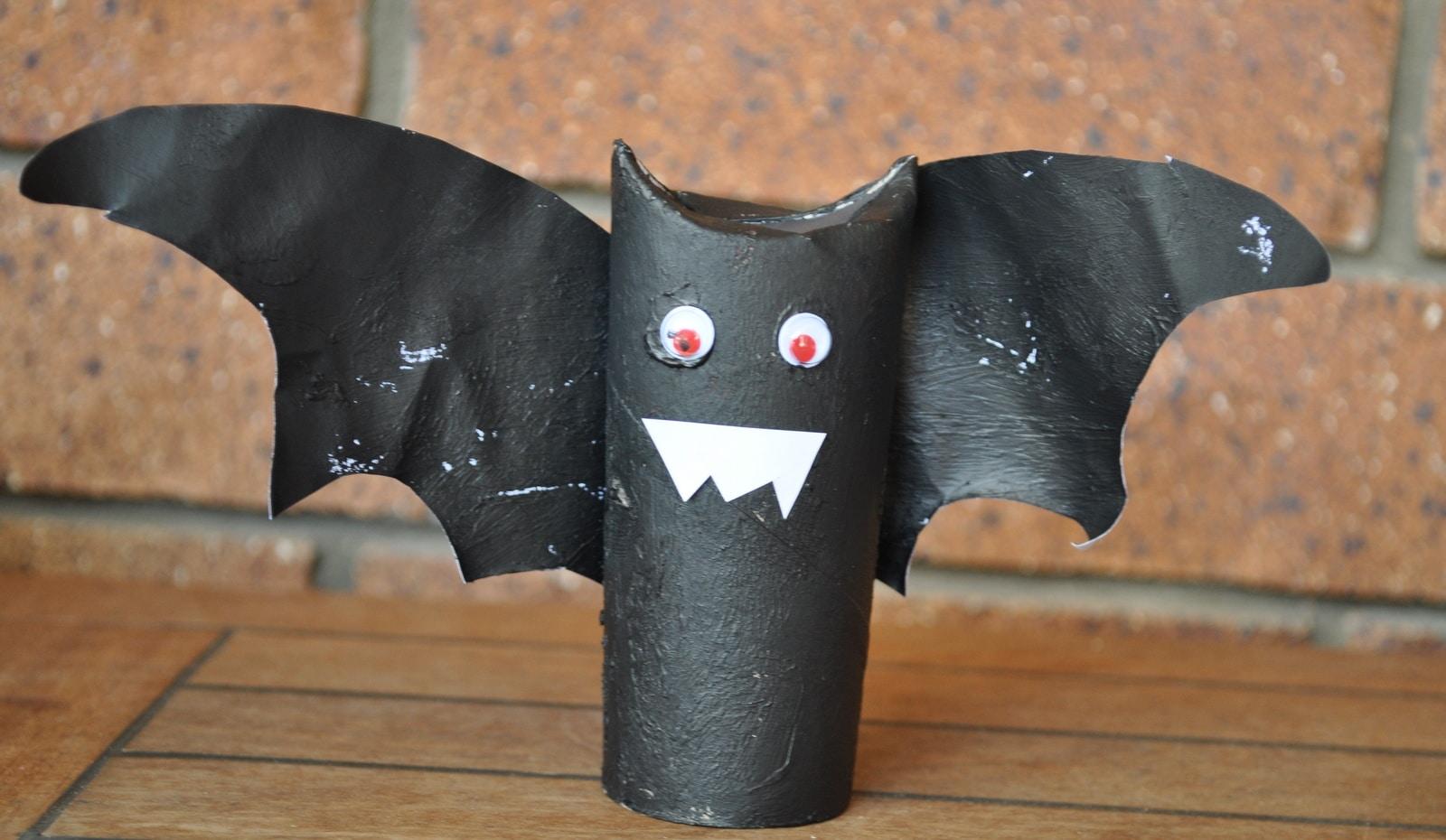 Spooky Black Bats Halloween Craft Brisbane Kids