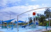 water play fun at sandgate aquatic centre