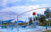 water play fun at sandgate aquatic centre