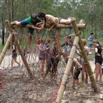 School Camps QLD Obstacle Course
